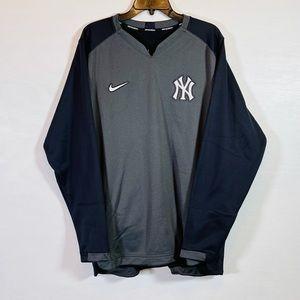 Nike NYY New York Yankees Thermal Crew L/S Shirt